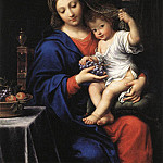 The Italian artists - MIGNARD Pierre The Virgin Of The Grapes