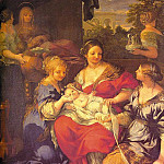 The Italian artists - Cortona, Pietro da (Pietro Berrettini, Italian, 1596-1669) cortona1