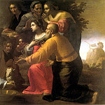 The Italian artists - The Lamentation over the Dead Christ