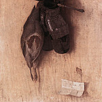 Итальянские художники - BARBARI Jacopo de Still life With Partridge And Iron Gloves