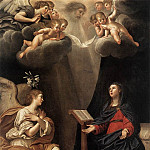 The Italian artists - ALBANI Francesco The Annunciation