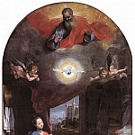The Italian artists - BAROCCI Federico Fiori Annunciation