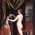 The Italian artists - FONTANA Lavinia Minerva Dressing