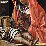 The Italian artists - BONSIGNORI Francesco Virgin With Child