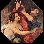 The Italian artists - CIGNANI Carlo Joseph And Potiphars Wife
