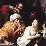The Italian artists - BADALOCCHIO Sisto Susanna And The Elders