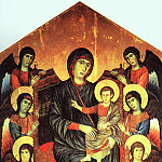 The Italian artists - Cimabue (Cenni di Peppi, Italian, 1240-1302)
