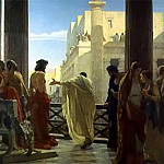 The Italian artists - Ciseri Antonio Ecce Homo