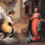 The Italian artists - SALIMBENI Ventura The Annunciation