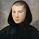 The Italian artists - CAROTO Giovanni Francesco Portrait Of A Young Benedictine