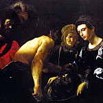 The Italian artists - Caracciolo (Giovanni Battista, Italian, approx. 1578-1635) Battista Salome