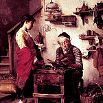 The Cobbler, The Italian artists