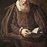 Итальянские художники - BASSETTI Marcantonio Portrait Of An Old Man With Book