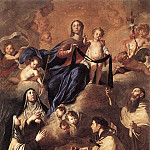 The Italian artists - NOVELLI Pietro Our Lady Of Mount Carmel