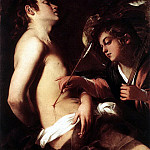 The Italian artists - BAGLIONE Giovanni St Sebastian Healed By An Angel