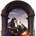 The Italian artists - ALBERTINELLI Mariotto Visitation