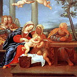 ALBANI Francesco Holy Family, The Italian artists