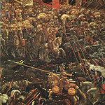 The Italian artists - ALSLOOT Denis van The Battle Of Alexander Detail