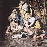 The Italian artists - SAMMARTINO Giuseppe Nativity