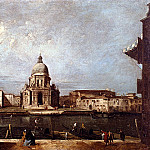 The Italian artists - Albotto Francesco Santa Maria Della Salute