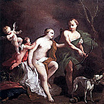 Venus and Adonis WGA, The Italian artists