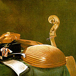 Baschenis, Evaristo Evaristo Still Life With Musical Instruments, The Italian artists