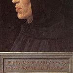 The Italian artists - Bartolomeo Fra Portrait of Girolamo Savonarola c1498