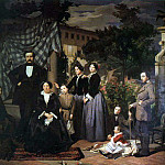 The Italian artists - Ciseri Antonio La Famiglia Bianchini 1853 5