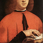 The Italian artists - Boltraffio Giovanni Antonio Portrait of Gerolamo Casio 1495