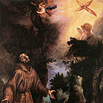 The Italian artists - CIGOLI St Francis Receives The Stigmata