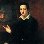 The Italian artists - ALLORI Alessandro Portrait Of A Young Man