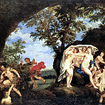 The Italian artists - ALBANI Francesco Diana And Actaeon