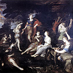 The Italian artists - CAMASSEI Andrea The Hunt Of Diana