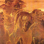The Italian artists - Previati, Gaetano (Italian, 1852-1920) 1