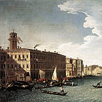 CANAL Bernardo The Grand Canal With The Fabbriche Nuove At Rialto, The Italian artists