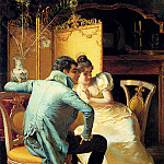 The Italian artists - Ricci Pio Elegant Couples In Interiors Pic 1