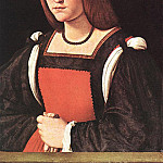 The Italian artists - Boltraffio Giovanni Antonio Portrait of a Young Woman MLN