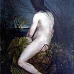 Kotarbinski William A. (1849-1922) - Nude in Qamïs. 1900 e