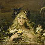 Water Nymph, private collection, Kotarbinski William A. (1849-1922)