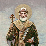 St Metropolitan of Moscow Philip. Esk. to painting. Vladimir own. Kiev. Gelos, Kotarbinski William A. (1849-1922)