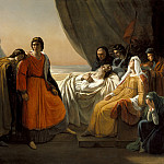 Los Angeles County Museum of Art (LACMA) - Ary Scheffer - The Death of Saint Louis