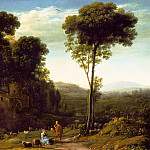 Los Angeles County Museum of Art (LACMA) - Claude Lorrain - Pastoral Landscape with a Mill
