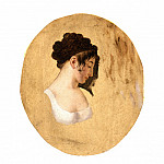 Louis-Leopold Boilly – Profile of a Young Woman′s Head, Los Angeles County Museum of Art (LACMA)