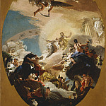 Giovanni Battista Tiepolo – Apollo and Phaethon, Los Angeles County Museum of Art (LACMA)