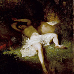 Jean-Francois Millet – Diana Resting, Los Angeles County Museum of Art (LACMA)