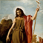 Jose Leonardo – Saint John the Baptist in the Wilderness, Los Angeles County Museum of Art (LACMA)