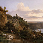 Los Angeles County Museum of Art (LACMA) - Jean-Charles Joseph Remond - Lake Nemi