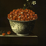 Los Angeles County Museum of Art (LACMA) - Adriaen Coorte - Wild Strawberries in a Wan Li Bowl