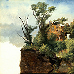 Los Angeles County Museum of Art (LACMA) - Pierre-Henri de Valenciennes - Landscape with Ruins