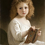 William-Adolphe Bouguereau – The Story Book, Los Angeles County Museum of Art (LACMA)